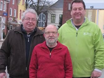 Herr Hanstein, Herr Ihben und Herr Remmers